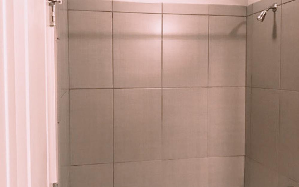 B5 - 1 bedroom floorplan layout with 1 bath and 684 square feet. (Bath Closet)